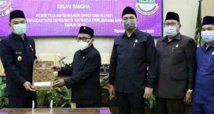 DPRD Kabupaten Tangerang Sahkan Perda APBD Perubahan 2020