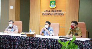 Pemkot Tangerang Bagikan Masker di Kecamatan Jatiuwung