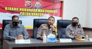 Polda Banten Amankan 14 Orang Dalam Aksi Unjuk Rasa Mahasiswa