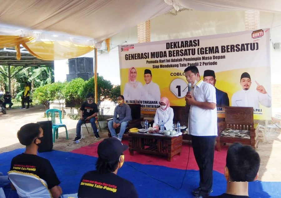 Pemuda Tunjung Teja Minta Tatu Lanjutkan Pembangunan Kabupaten Serang