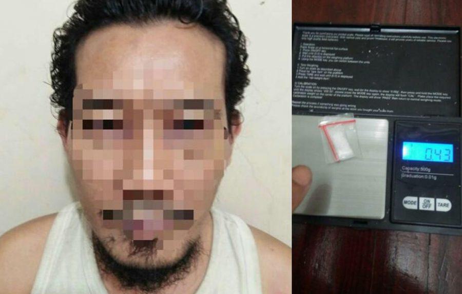 Nekat Jadi Pengedar Sabu Berakhir Jadi Tahanan di Polsek Jatiuwung