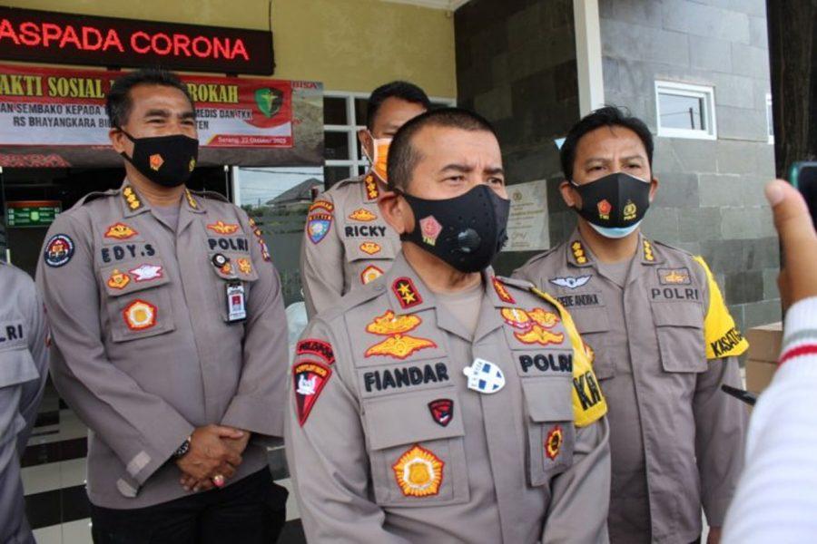 Kapolda Banten: Pengawasan Protokol Kesehatan Diperketat Saat Libur Panjang