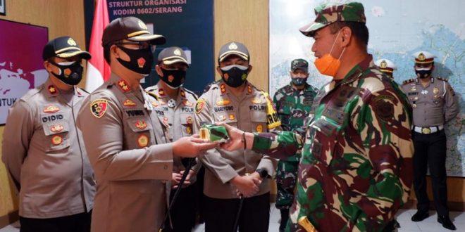 HUT TNI Ke-75, Polres Serang Kota Berharap Sinergitas TNI-Polri Semakin Lebiha Baik