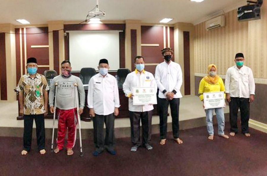 UPZ Pemprov Banten Kembali Salurkan Zakat Tahap VI