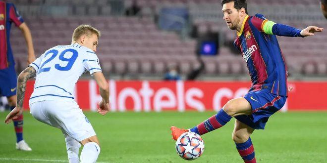 Barcelona vs Dynamo Kiev, Messi dan Gerard Menangkan Barca 2-1