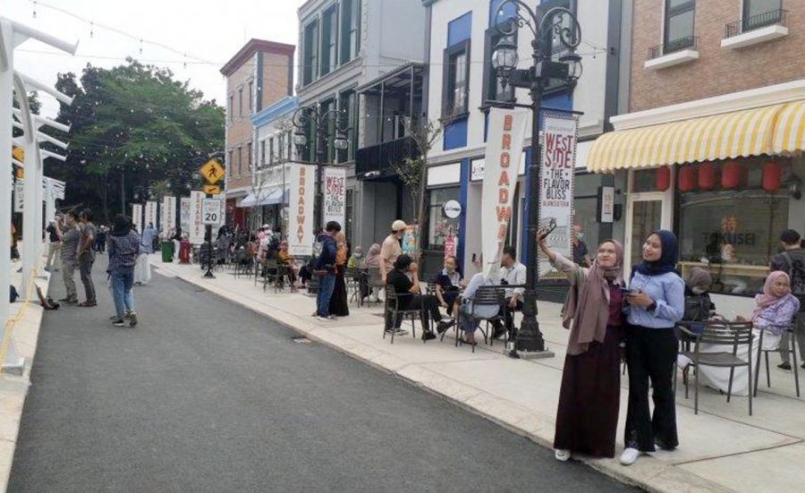 Broadway Alam Sutera, Destinasi Wisata Vintage Rasa Amerika