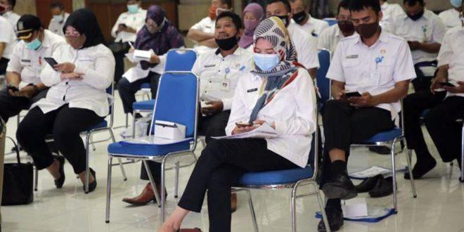 Dinkes Kota Tangerang Gelar Bimbingan Keselamatan Kerja