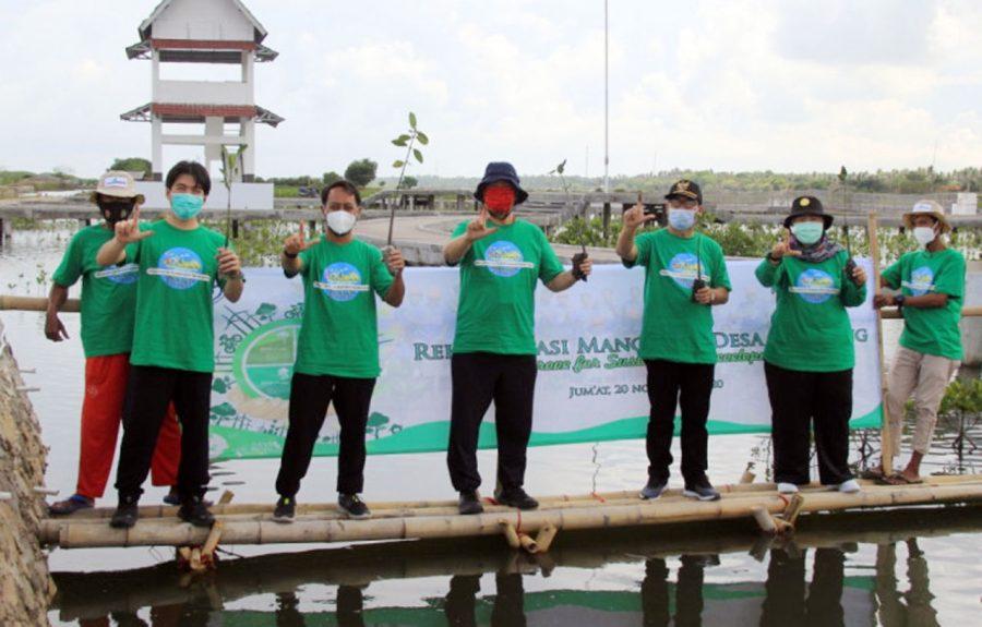 PLTU Lontar Tanam 5000 Mangrove di Ketapang Mauk Tangerang