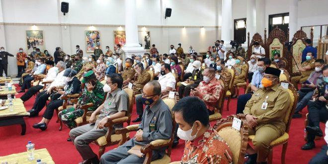 Dirreskrimsus Polda Banten Hadiri Rakor Pencegahan Korupsi di Pendopo Gubernur
