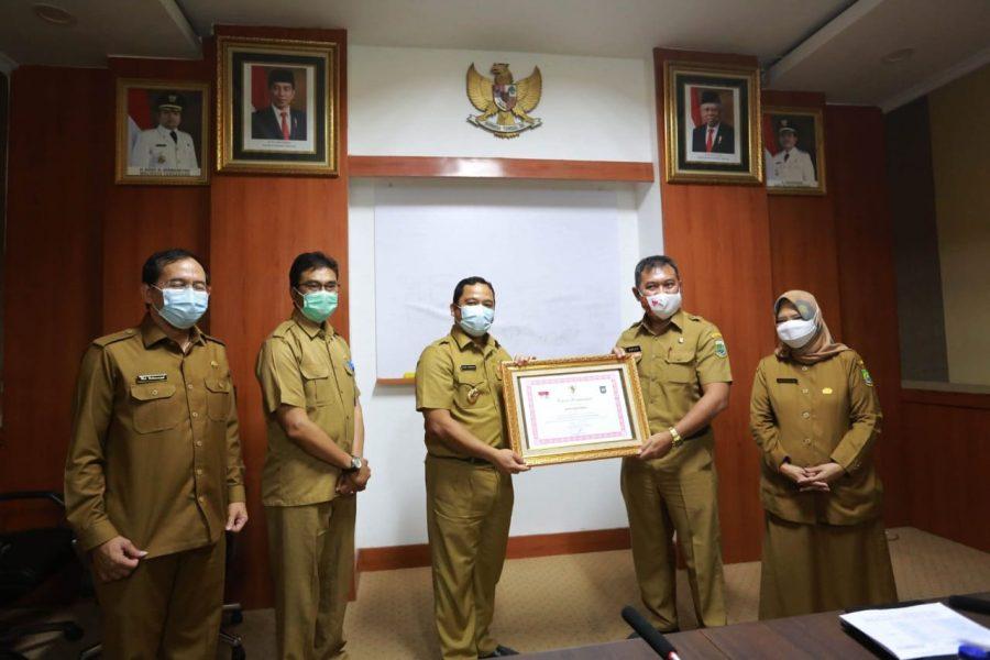 Pemkot Tangerang Raih Penghargaan Tingkat Nasional Sebagai Pemerintah Berprestasi Terbaik