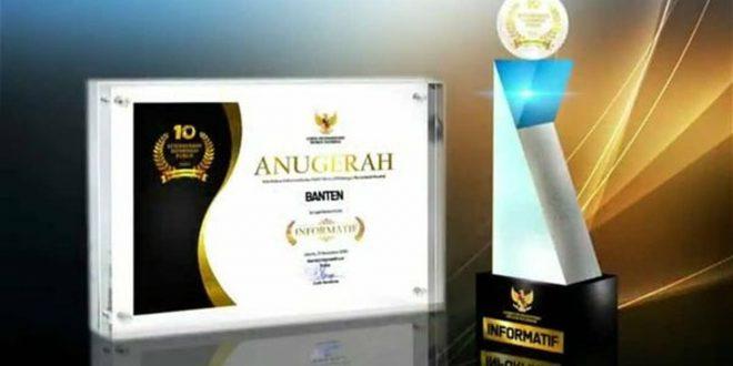 Pemprov Banten Raih Kategori Informatif