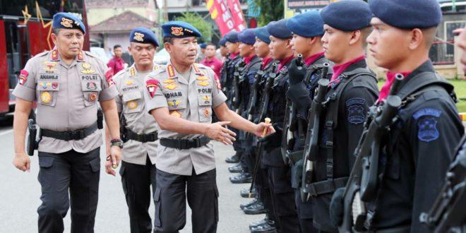 Polri Terjunkan 190 Ribu Personel Dalam Operasi Lilin 2020
