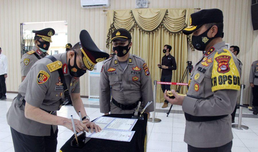 Kapolda Banten Irjen Pol Drs. Fiandar Pimpin Sertijab Wakapolda Banten