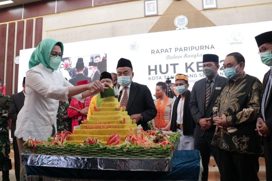Peringatan 12 Tahun Kota Tangsel, Kepemimpinan Airin Torehkan Berbagai Prestasi