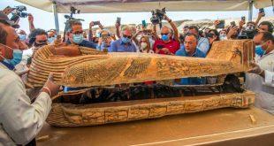 Mesir Kembali Temukan 59 Sarkofagus Berusia 2.500 Tahun di Situs Makam Saqqara