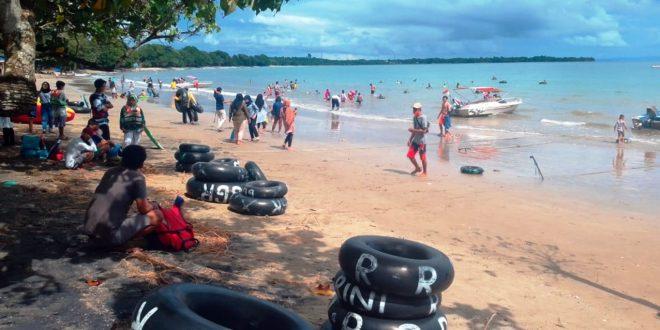 Nikmati Masa Libur, Sejumlah Lokasi Objek Wisata di Provinsi Banten Dipadati Wisatawan