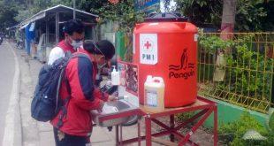 PMI Kota Tangerang Salurkan Wastafel di 13 Kecamatan