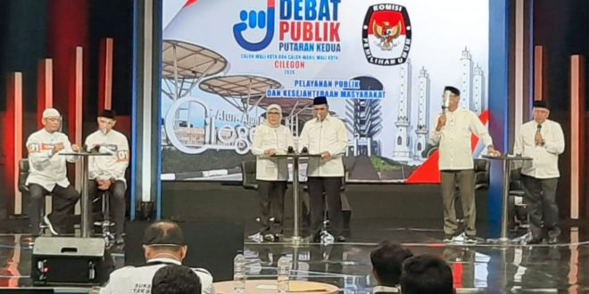 Debat Paslon Pilkada Kota Cilegon Putaran II: Program Smart City Dikritisi
