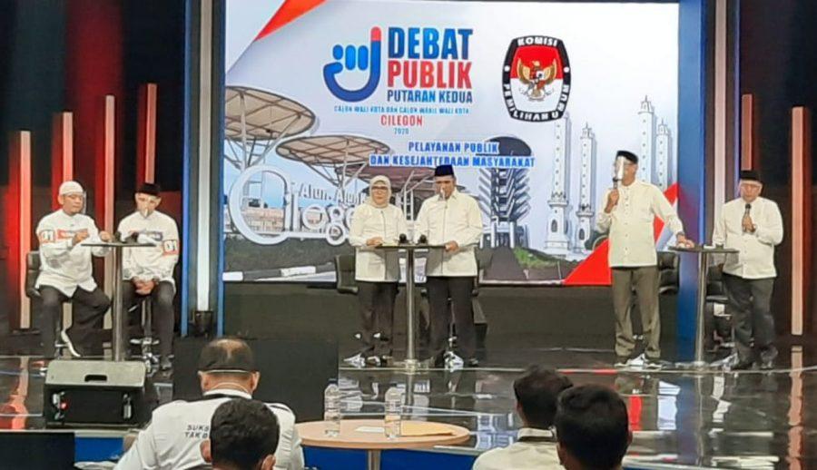 Debat Paslon Pilkada Kota Cilegon Putaran II: Program Smart City Dikritisi