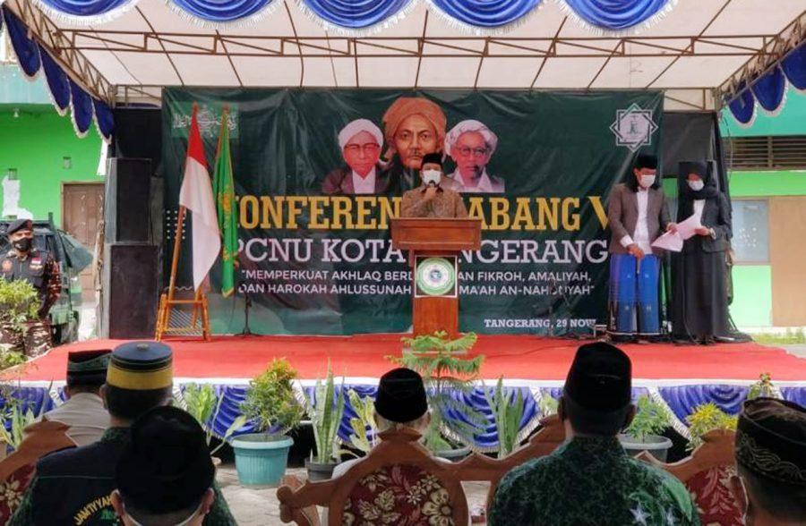 Walikota Arief Ajak PCNU Terus Berkontribusi Perangi Penyebaran COVID-19