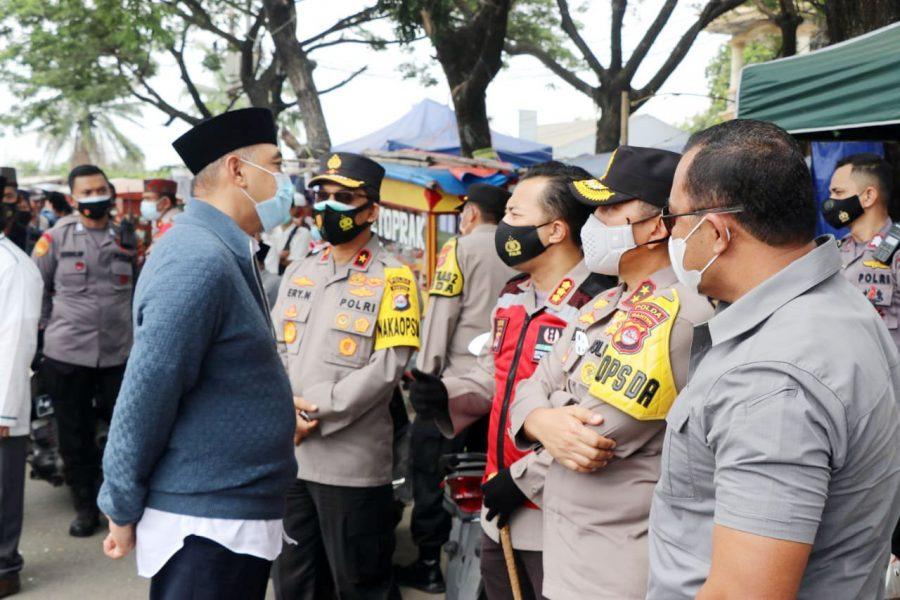 Kapolda Banten Pantau Penerapan Protokol Kesehatan di Acara Haul Syech Abdul Kadir Jaelani