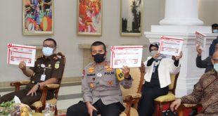 Kapolda Banten Hadiri Penyerahan DIPA dan TKDD tahun 2021 dari Gubernur