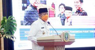 Gubernur Banten Lakukan Penyerahkan Petikan DIPA Dan TKDD Tahun Anggaran 2021