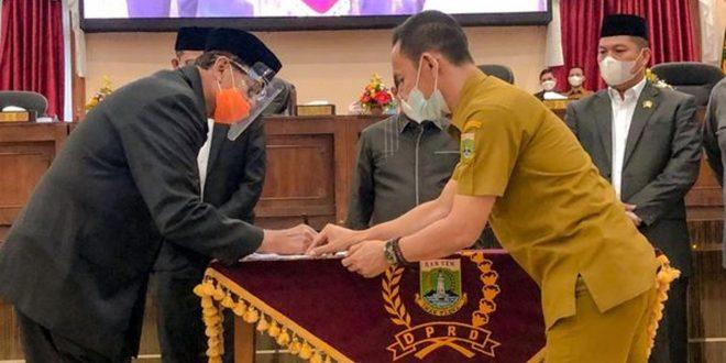 DPRD Provinsi Banten Setujui RAPBD Pemprov TA 2021 dan Penyertaan Modal BUMD Agrobisnis Banten Mandiri
