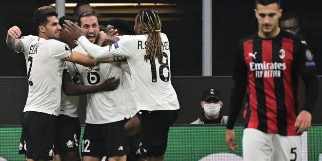 AC Milan Kalah Telak 0-3 dari Lille, Ibrahimovic Gagal Jadi Penyelamat