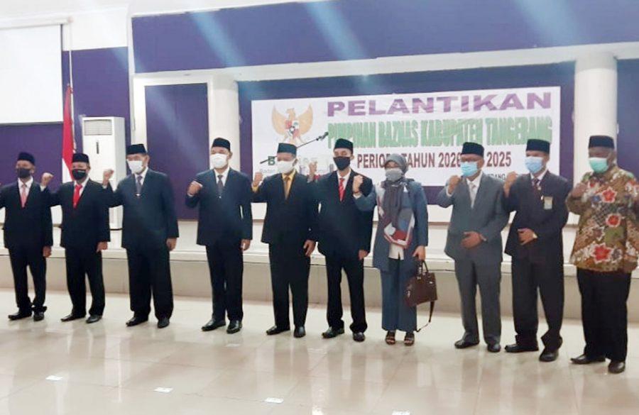 BAZNAS Kabupaten Tangerang Lakukan Pergantian Pengurus UPZ Dinas Dan Kecamatan