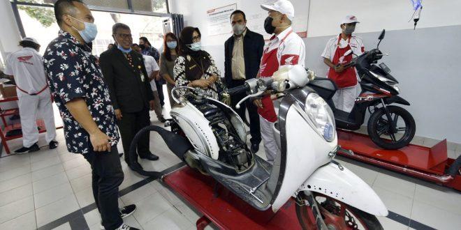 Lewat Online: Peresmian Laboratorium Honda SMK ASISI Tetap Penuh Harapan