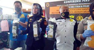 Bea Cukai Bandara Soetta Gagalkan Penyelundupan 6 Kg Sabu dari Malaysia