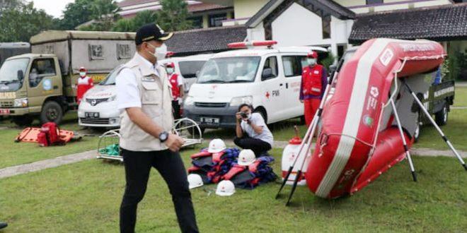 Bupati Zaki Gelar Apel Kesiapsiagaan Bencana, Antisipasi Bentuk Desa Tangguh