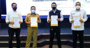 Didampingi KPK, Pemkot Tangerang Bahas Pemanfaatan Aset Milik Angkasa Pura II