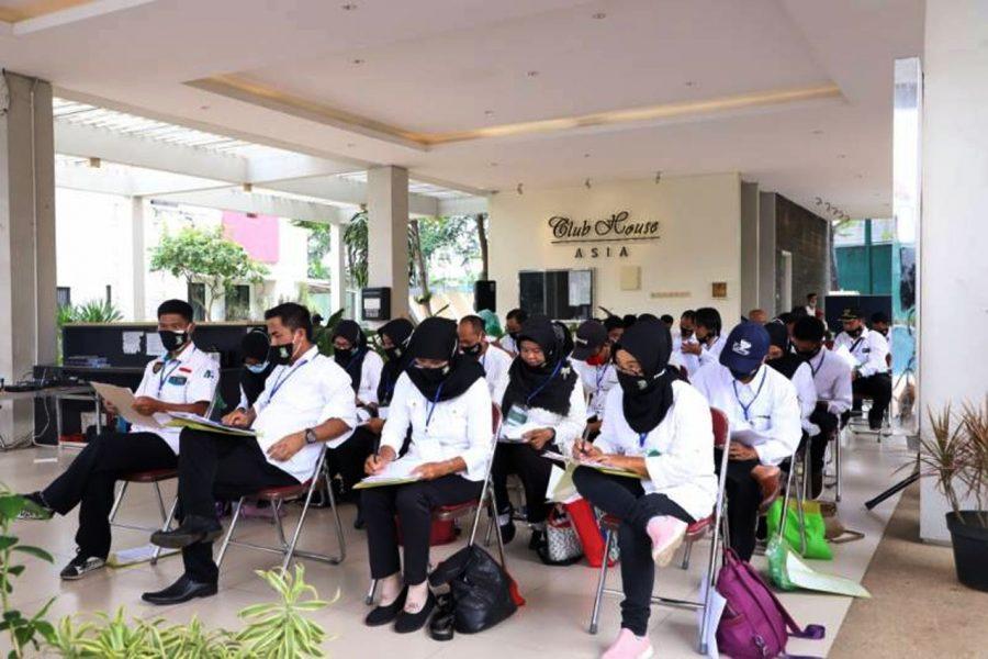 Pemkot Tangerang Bersama BNSP Gelar Uji Kompetensi Penggiat Kampung Tematik
