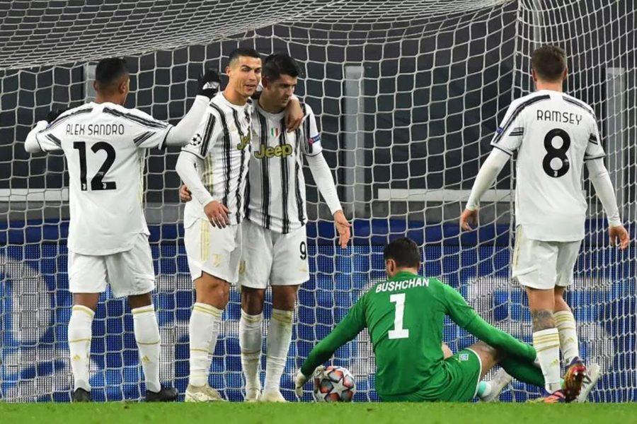 Juventus Menang 3-0 atas Dynamo Kiev
