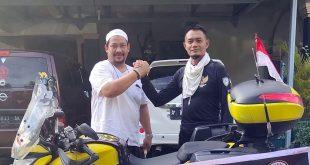 Ibenk Lakukan Perjalanan Unik Naik Motor Dari Banten ke Mekkah untuk Beribadah Haji