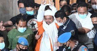 Habib Rizieq Resmi Ditahan Polda Metro Jaya Terkait Kasus Penghasutan dan Kerumunan