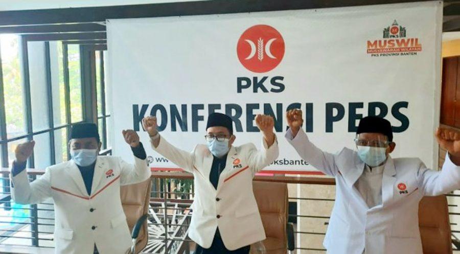 PKS Banten Gelar Muswil V Secara Virtual, Gembong R Sumedi Pimpin DPW PKS Banten