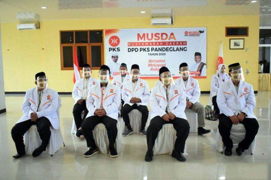 Hasil Musda, Tb Asep Rafiudin Kembali Terpilih jadi Ketua DPD PKS Pandeglang