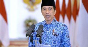 Jokowi di HUT Korpri: Regulasi yang Rumit Harus Dipangkas