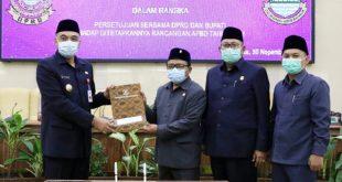 DPRD Mengesahkan APBD Kabupaten Tangerang Tahun 2021 Sebesar Rp5,276 Triliun