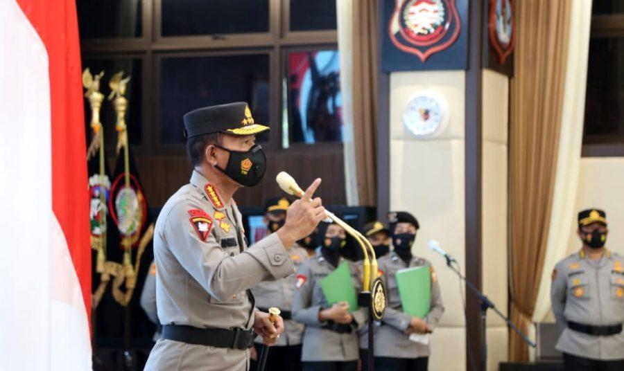 Kapolri Pimpin Korps Raport 46 Perwira Tinggi Polri