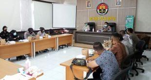 Polda Banten Sosialisasikan Protokol Kesehatan COVID-19 dan Vaksin