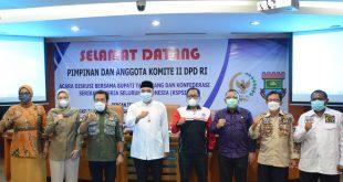 Bupati Zaki Terima Kunjungan Kerja komite II DPD RI