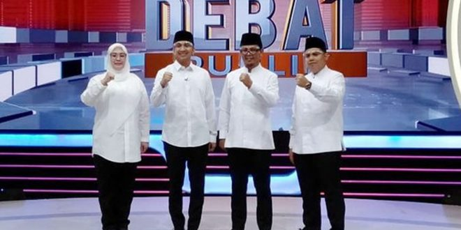 Debat Paslon Pilkada Pandeglang 2020, Duel Seru Dua Kandidat Irna Lawan Thoni