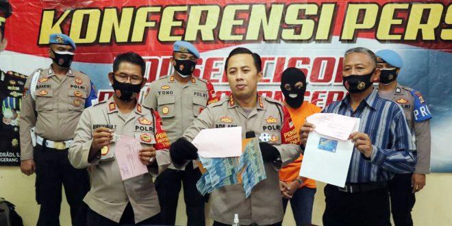 Modus Cabut Steker Listrik: Pembobol Mesin ATM Diringkus Polresta Tangerang