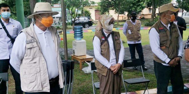 Tinjau Pilkada Tangsel: Gubernur Banten Ingatkan Protokol Kesehatan