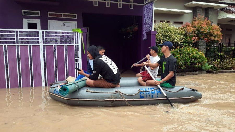 Ratusan Rumah Warga di Kota Serang Terendam Banjir