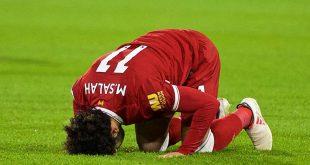 Winger Liverpool Mohamed Salah selalu Sujud Syukur usai Cetak Gol dan Jadi Panutan